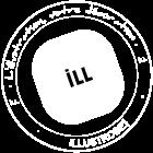 Logo Illustrose symbole - L'illustration, votre décoration.
