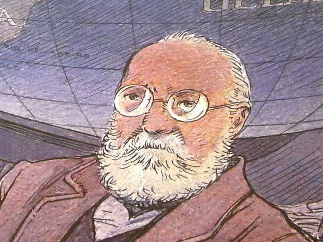 Histoire d'image : l'hommage de François Schuiten à Paul Otlet
