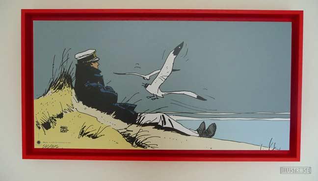 Affiche BD encadrée Corto Maltese marin