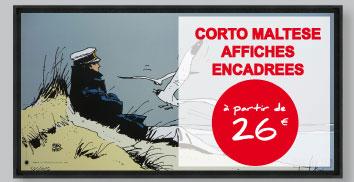 Toiles et Affiches - Corto Maltese
