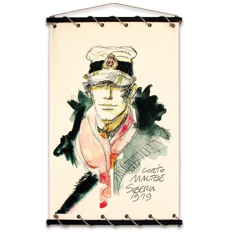 Toile décorative BD Corto Maltese 'Corto 1919' - Illustrose