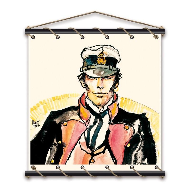 Toile décorative BD Corto Maltese 'Ballade' - Illustrose