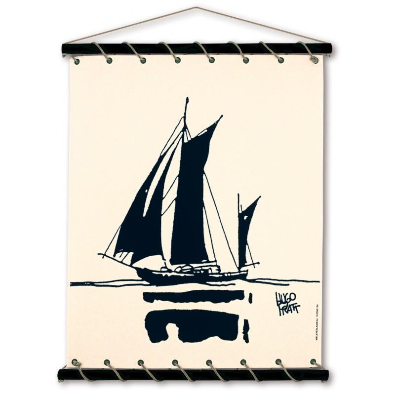 Toile décorative BD Corto Maltese 'Itapoa' - Illustrose