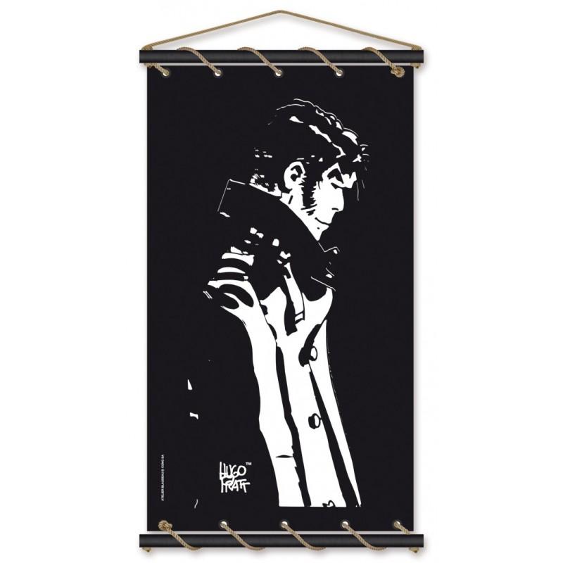 Toile décorative BD Corto Maltese 'Penseur noir' - Illustrose