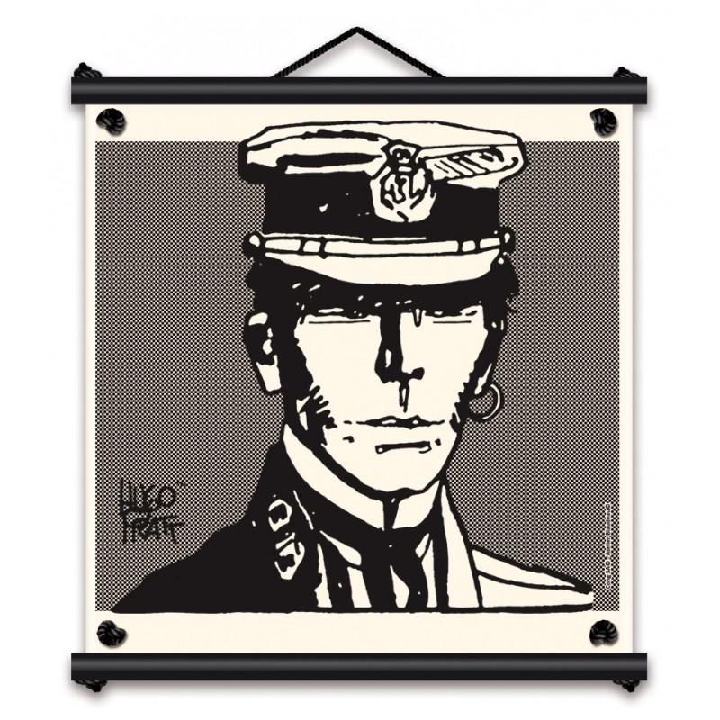 Toile décorative BD Corto Maltese 'Portrait' - Illustrose