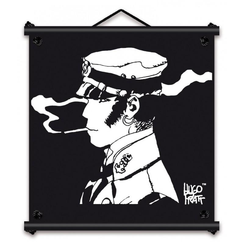 Toile décorative BD Corto Maltese 'Rencontre' - Illustrose