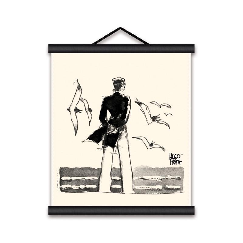 Toile décorative BD Corto Maltese 'Rendez-vous' - Illustrose