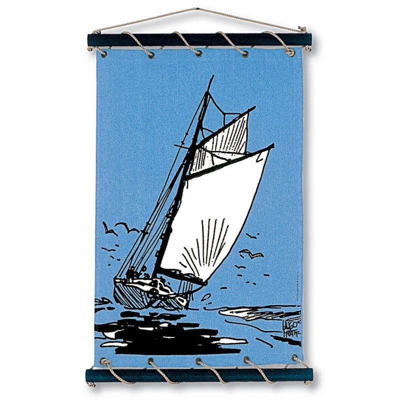Toile décorative BD Corto Maltese 'Vent arrière' - Illustrose