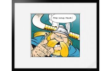 Digigraphie sur papier d'art 'Astérix, Fais nous peur' - Albert Uderzo