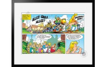 Digigraphie sur papier d'art 'Astérix, Allez Gaule' - Albert Uderzo