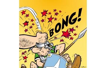 Digigraphie sur toile 'Astérix, Bong!' - Albert Uderzo