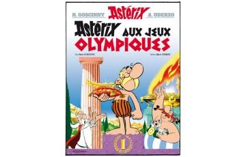 Digigraphie sur toile 'Astérix, Couverture Astérix aux JO' - Albert Uderzo
