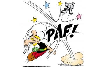 Toile 'Astérix, PAF! Astérix' - Albert Uderzo