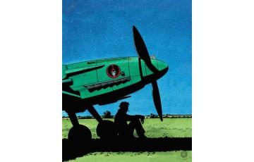 Affiche d'art N°/Signée 'Mezek, nuit' - André Juillard