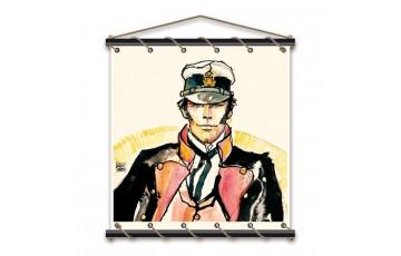 Toile sérigraphiée 'Corto Maltese, Ballade' - Hugo Pratt