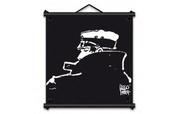 Toile sérigraphiée 'Corto Maltese, Nocturne' - Hugo Pratt