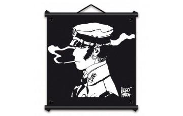 Sérigraphie sur toile 'Corto Maltese, Rencontre' - Hugo Pratt
