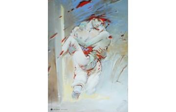 Affiche d'art 'Bleu sang III' - Enki Bilal