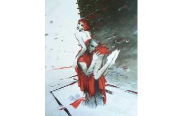 Affiche d'art N°/Signée 'Roméo & Juliette' - Enki Bilal