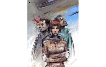 Affiche d'art '32 Décembre' - Enki Bilal
