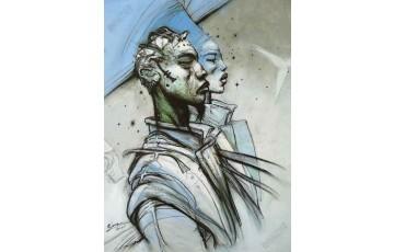 Affiche d'art 'L'an 2001' - Enki Bilal