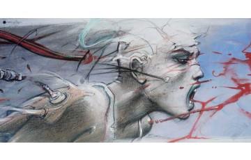 Affiche d'art 'Sacha' - Enki Bilal