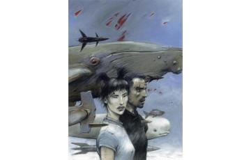 Affiche d'art N°/Signée 'La couleur de l'air' - Enki Bilal