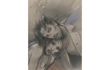 Affiche d'art N°/Signée 'Julia & Roem' - Enki Bilal