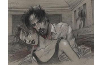 Affiche d'art 'Larmes' - Enki Bilal