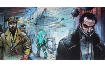 Affiche d'art 'Little Bangkok' - Enki Bilal