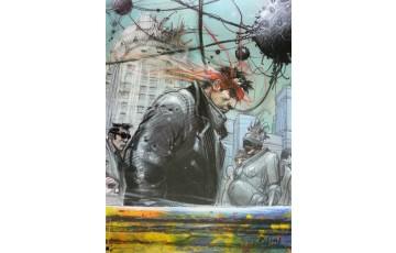 Affiche d'art 'Obscurantis' - Enki Bilal