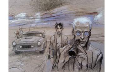 Affiche d'art 'L'observation' - Enki Bilal