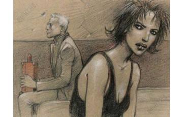 Affiche d'art 'Le pacte' - Enki Bilal