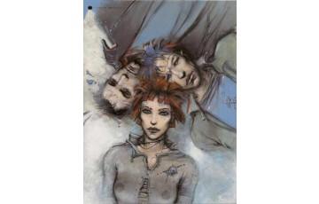 Affiche d'art 'Le sommeil du monstre' - Enki Bilal