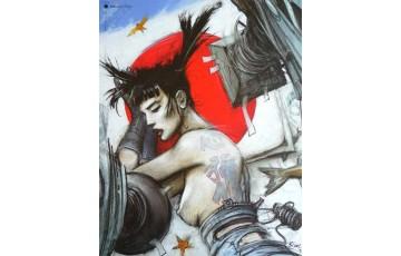 Affiche d'art 'Tattoo' - Enki Bilal