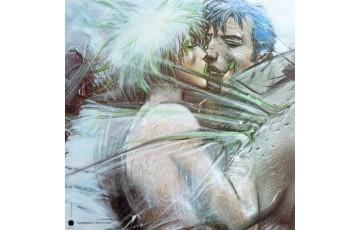 Affiche d'art 'Tu m'aimes white' - Enki Bilal