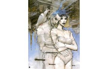 Affiche d'art 'Visioni di fine millenio' - Enki Bilal
