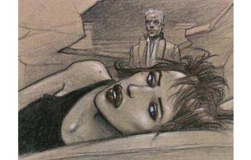 Affiche d'art 'Julia ne dormait pas' - Enki Bilal