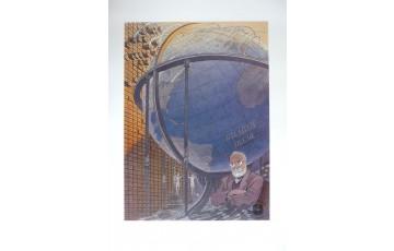 Affiche d'art N°/Signée 'Paul Otlet' - François Schuiten