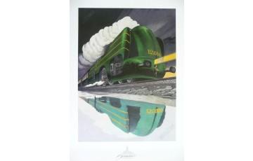 Affiche d'art 'La type 12 de nuit' - François Schuiten