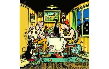 Affiche d'art 'Nos amis les bêtes' - Frank Margerin