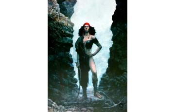 Affiche d'art 'Thorgal, Kriss de Valnor' - Grzegorz Rosinski