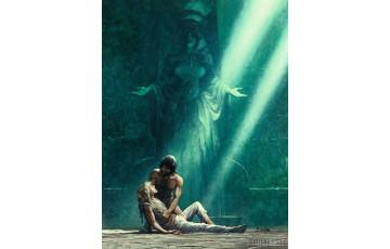 Toile 'Thorgal, La cité du Dieu perdu' - Grzegorz Rosinski