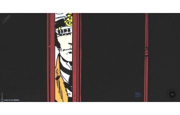 Affiche d'art 'Corto Maltese, Aventures' - Hugo Pratt