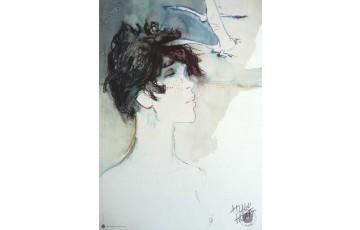 Affiche d'art 'Corto Maltese, Banshee' - Hugo Pratt