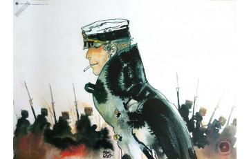 Affiche d'art 'Corto Maltese, La jeunesse' - Hugo Pratt