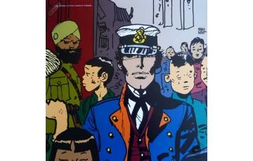Affiche d'art 'Corto Maltese, Lointain' - Hugo Pratt
