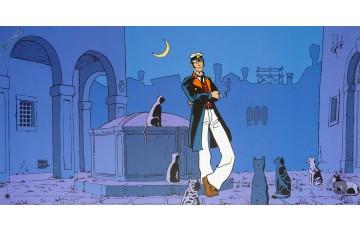 Affiche d'art 'Corto Maltese, Corto théâtre' - Hugo Pratt