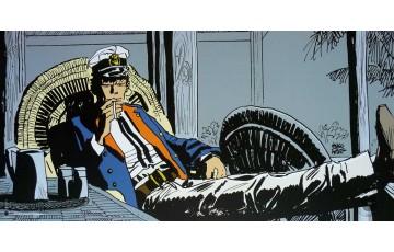Affiche d'art 'Corto Maltese, Tropique' - Hugo Pratt