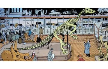 Affiche d'art 'Nestor Burma, 5ème arr. de Paris' - Jacques Tardi